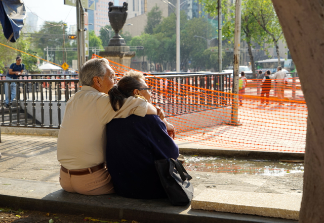 Love on the streets of Mexico City