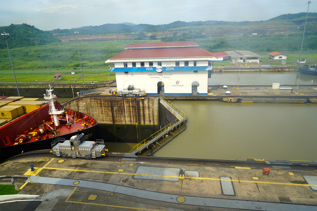 When you are in Panama you are going to see the Panama Canal. Miraflores locks is made perfectly well for tourists. With 4 floors of observation decks, a museum and a cafe.