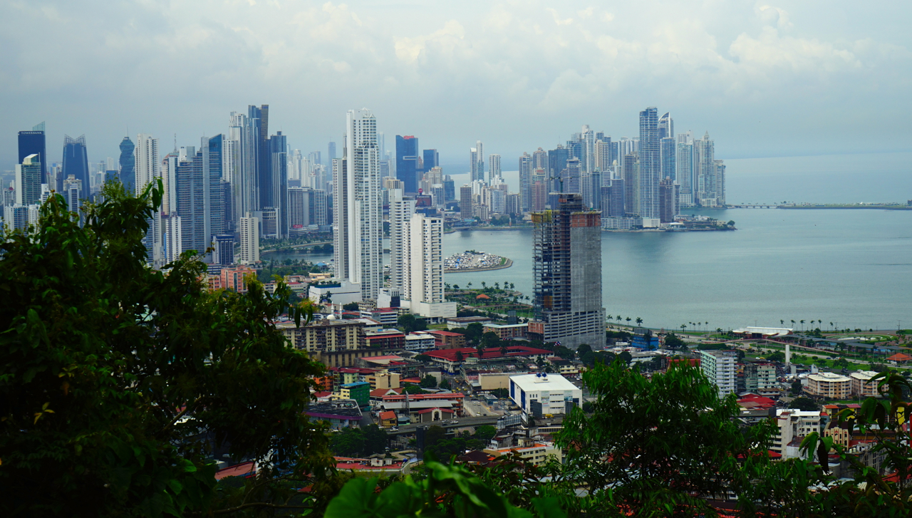 3 mln people live in Panama, 1.5 of them are in the capital.