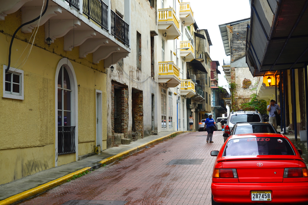The architecture of the old town is a unique combination of Spanish and French colonial heritage.