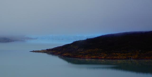 Ледник вдалеке