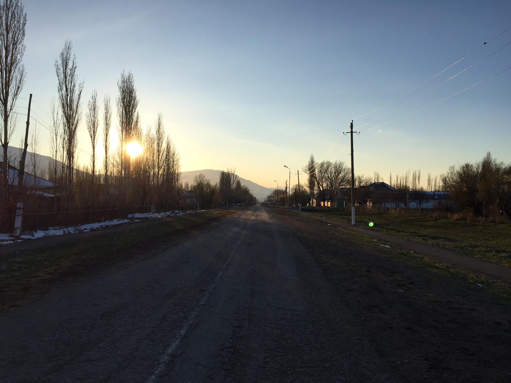 Zhabagly village